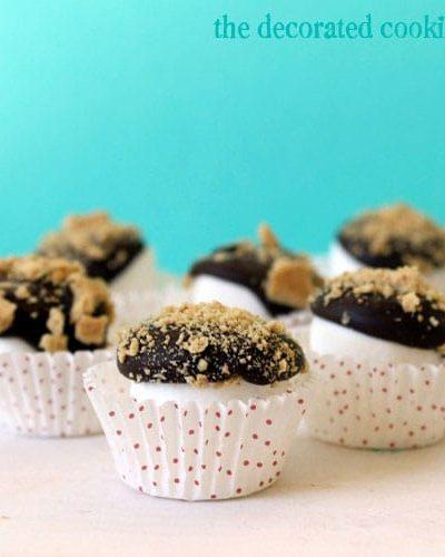 """mini s'mores """"cupcakes"""""""
