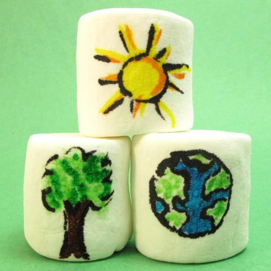 earth day marshmallows