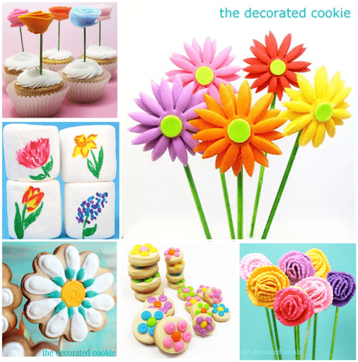 flower cookie ideas