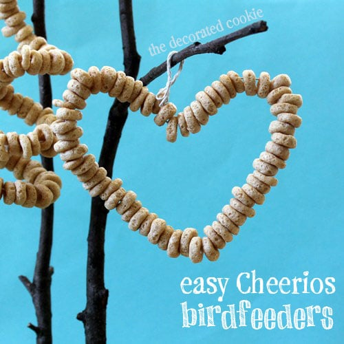 Captivating Easy Cheerios Birdfeeders With Printable Instructions