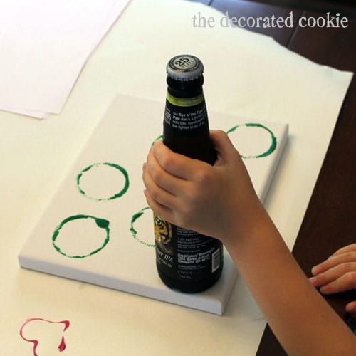 Father's Day Idea: DIY Beer Art