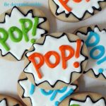 POP cookies for 4th of July or Father's Day