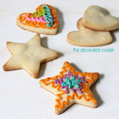 The best VEGAN cut-out cookies and icing and cookie decorating with kids who have allergies