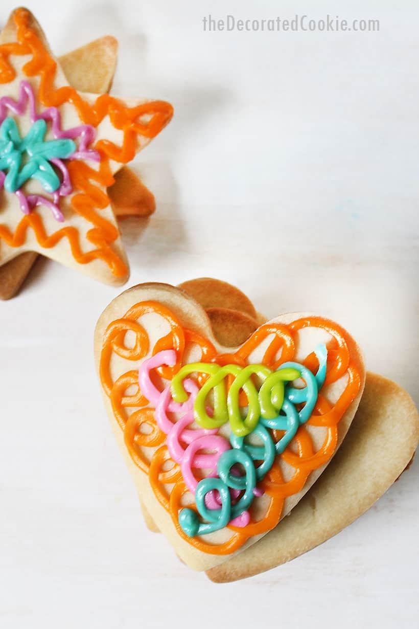 vegan sugar cookie recipe and vegan decorating icing