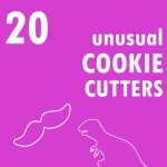 roundup of unusual cookie cutters