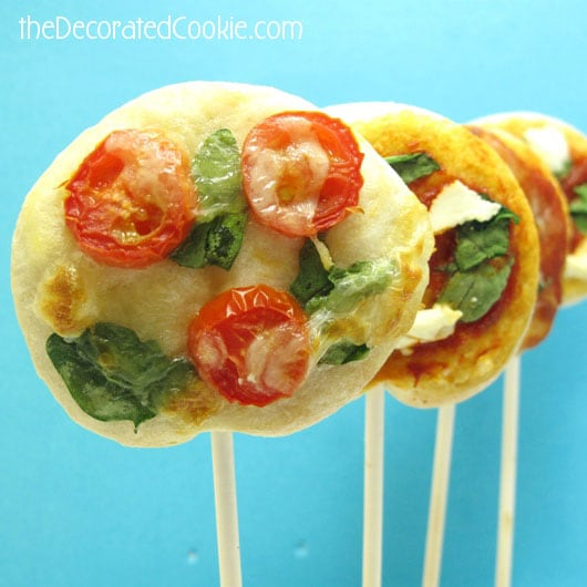 pizza on a stick