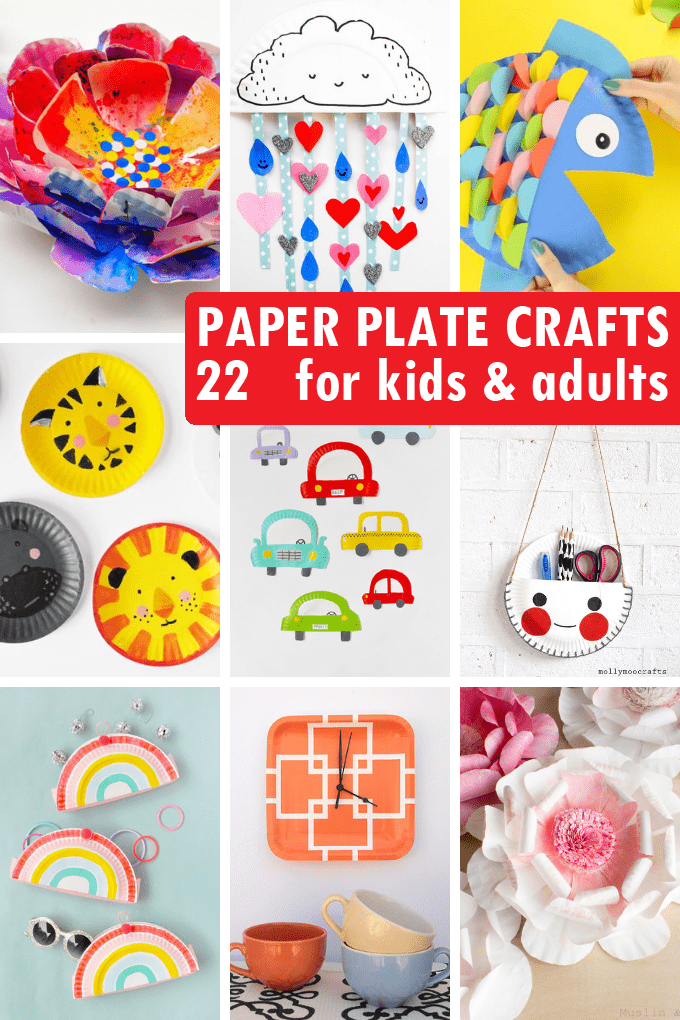Paper Plate Crafts 22 Paper Plate Crafts For Kids And Adults