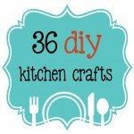 36 diy kitchen crafts