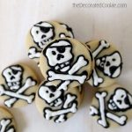 mini pirate cookies