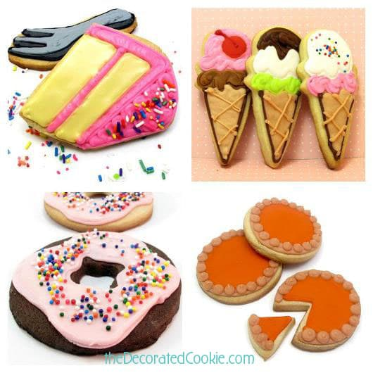 decorated cookie food