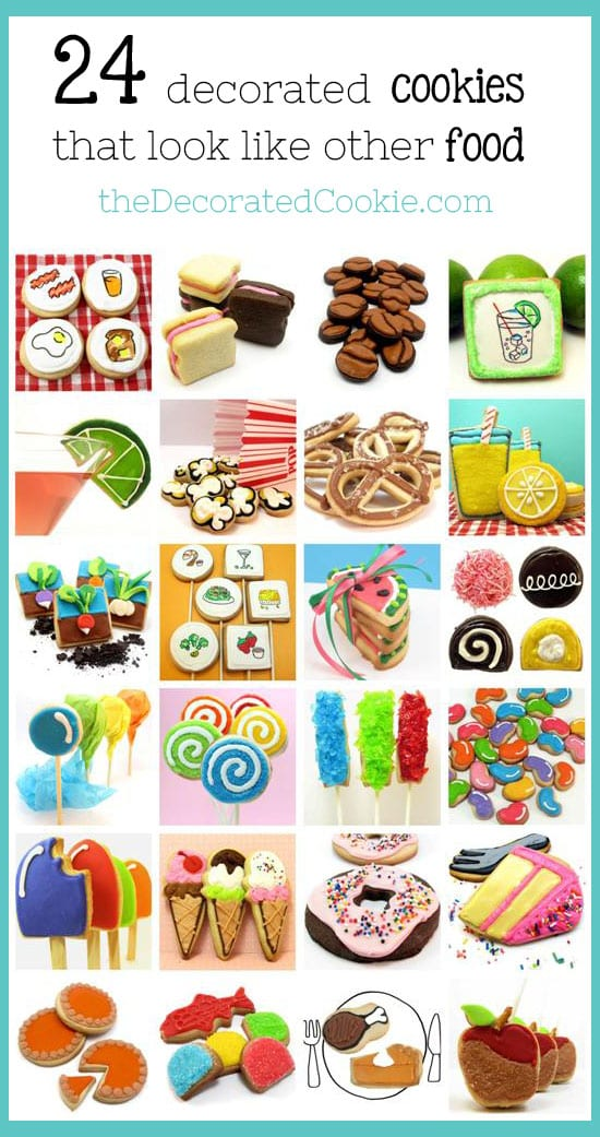 decorated cookie foods