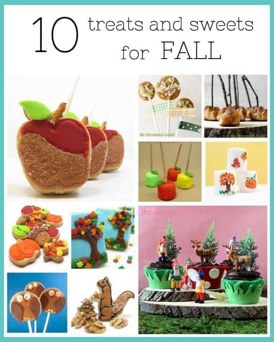 fall treats and sweets