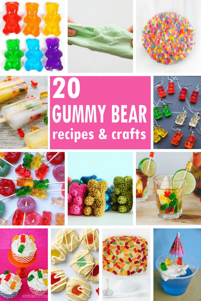 Gummy Bears A Roundup Of Gummy Bear Recipe Ideas And Crafts