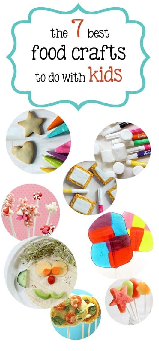 the best food crafts for kids