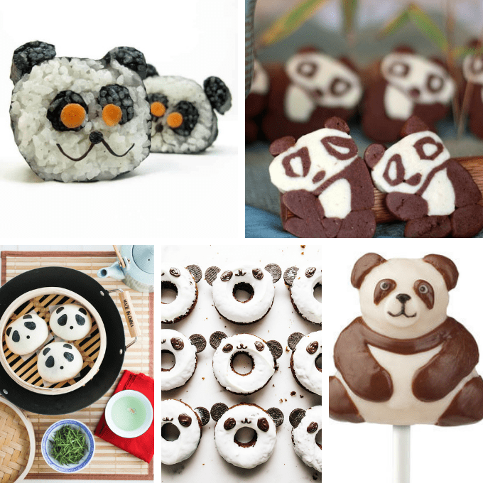 Panda bear crazy! How to make PANDA MARSHMALLOWS and 29 other panda treats and crafts, in honor of the pandas at the National Zoo.