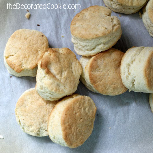 two-ingredient biscuits, I think I love you