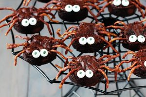 spider-brownies