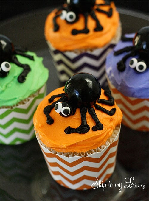spider-cupccakes