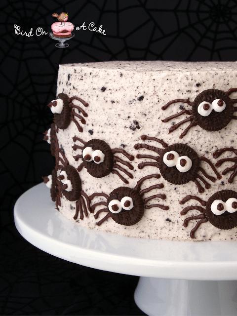 spider-oreo-cake