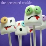 the original zombie marshmallows - the decorated cookies