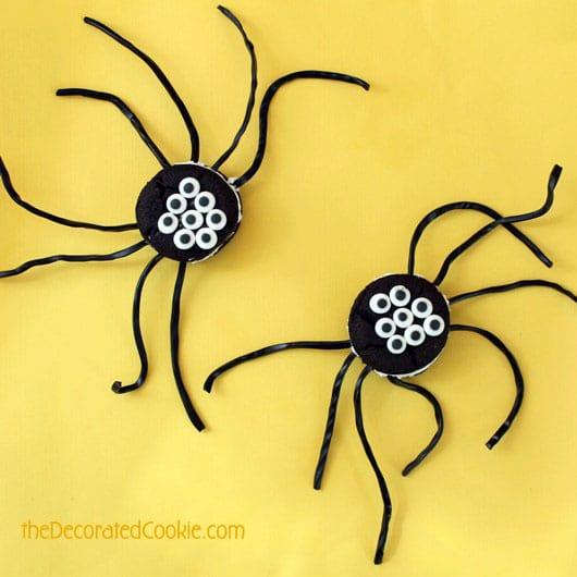 spider oreo cakester