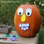 pumpkin face craft