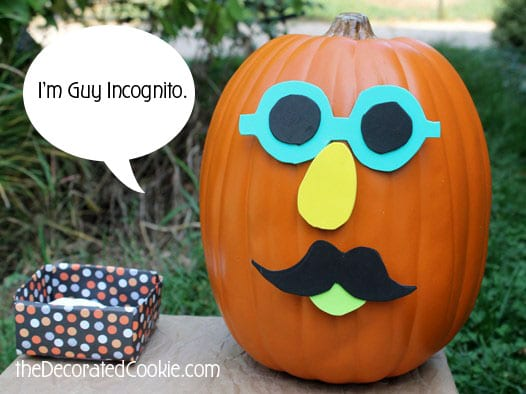 "Bonus points for anyone who gets the ""Guy Incognito"" reference."