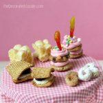 Teeny, tiny sweet birthday treats for Kix