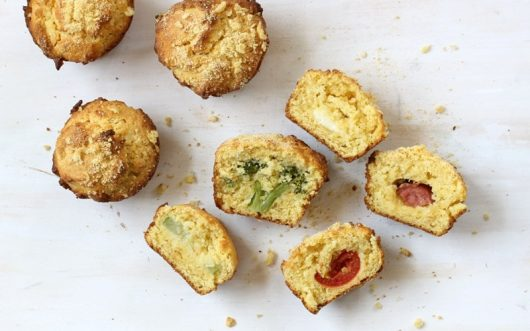 surprise-inside corn muffins for Kix