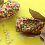 Paper bag snack favors for Thanksgiving