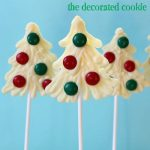 Christmas tree candy pops