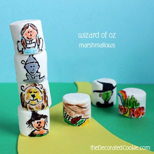 Wizard of Oz marshmallows