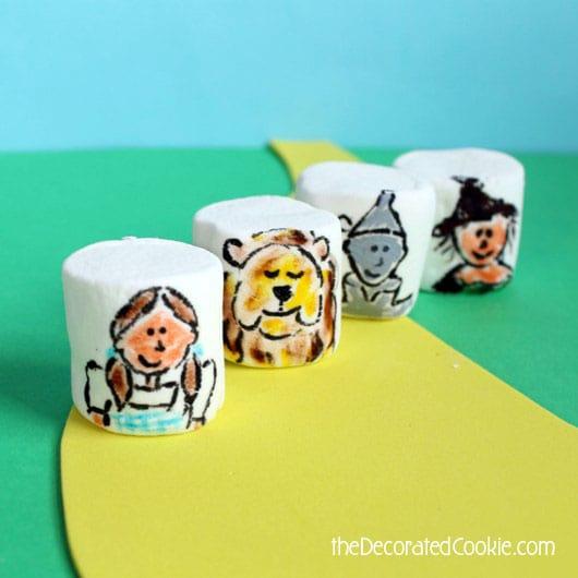 Wizard of Oz marshmallows