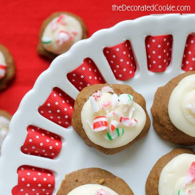 Gingerbread Drop Cookies Recipe #BringtheCOOKIES