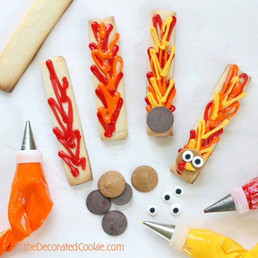 turkey cookie sticks you can't mess up