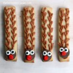 Rudolph cookie sticks
