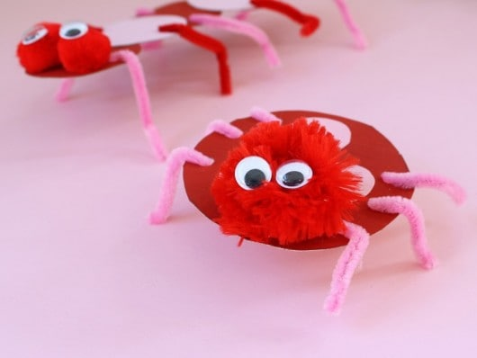 cereal box love bugs for Valentine's Day