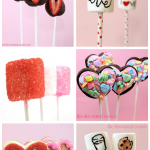 16 Valentine's Sweets on Sticks