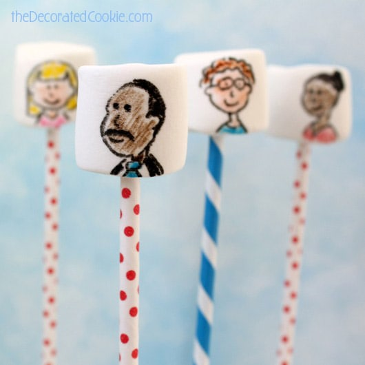 Martin Luther King, Jr. marshmallows