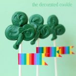 easy shamrock pops