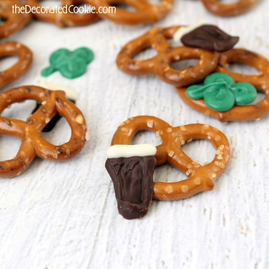 st patrick's day snack mix
