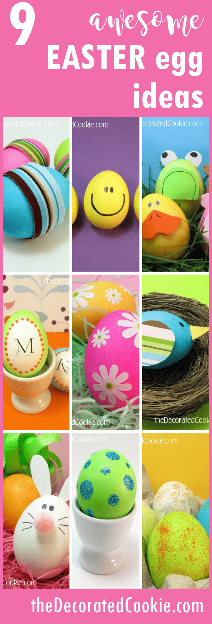 9 awesome Easter egg decorating ideas