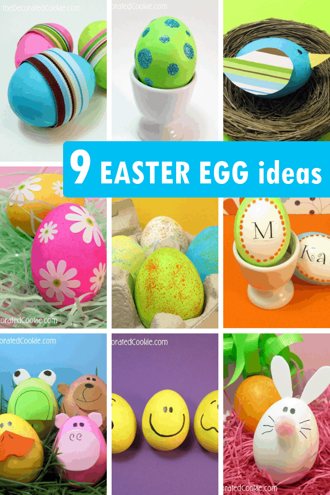 Easter egg decorating ideas: Here are nine unique and kid-friendly ideas for decorating Easter eggs, including painting, decoupage, and glitter.