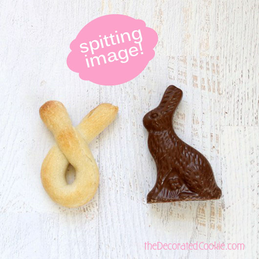bunny breadsticks for Easter -- EASY
