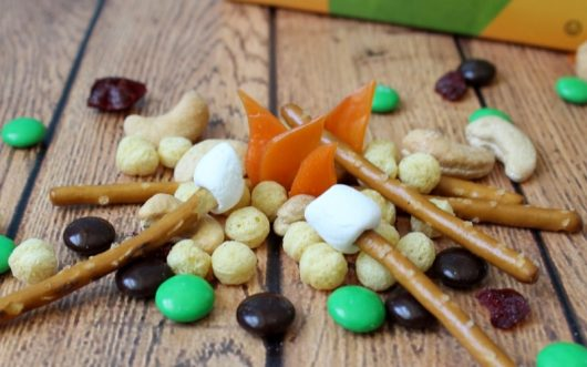 """Campfire"" trail mix"
