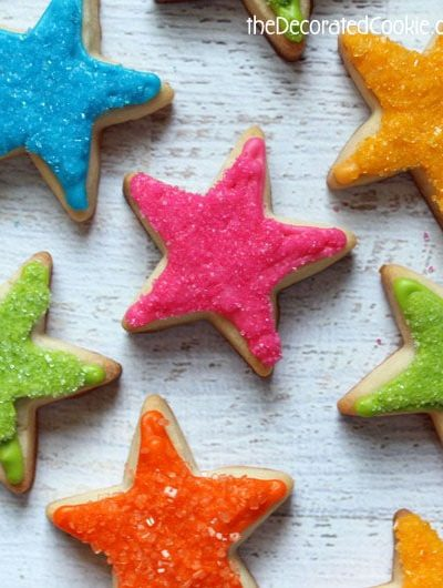 star cookies for teacher