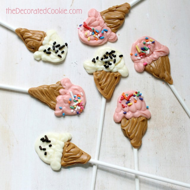 ice cream candies
