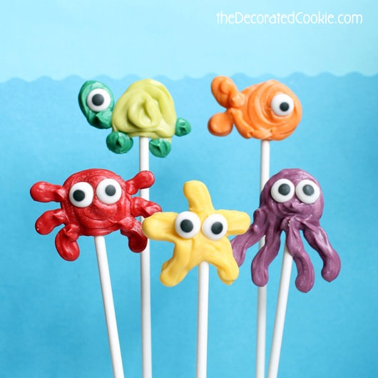 sea animal pops