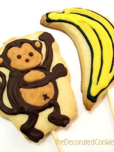 monkey banana cookies