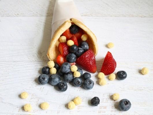 pancake cones